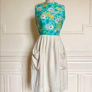 Dresses & Skirts - Vintage 1950s floral dress